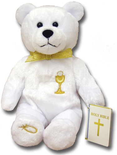 Teddy Bear First Holy Communion Holy Bears Plush