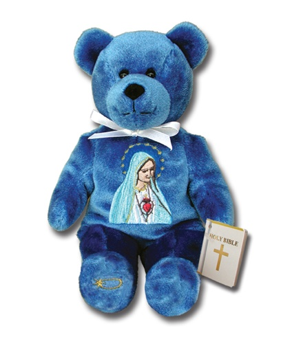 Teddy Bear Mary Our Lady Fatima Holy Bears Plush