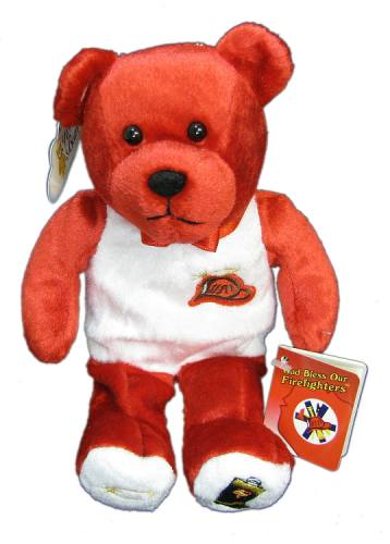 Teddy Bear Firefighters Holy Bears Plush