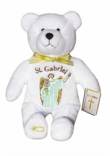 Teddy Bear St Gabriel Archangel Holy Bears Plush