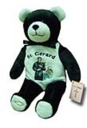 Teddy Bear St Gerard Holy Bears Plush