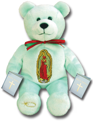 Teddy Bear Mary Our Lady Guadalupe Holy Bears Plush