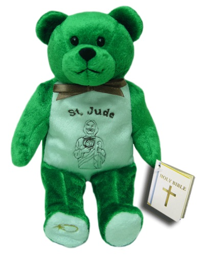 Teddy Bear St Jude Thaddeus Holy Bears Plush