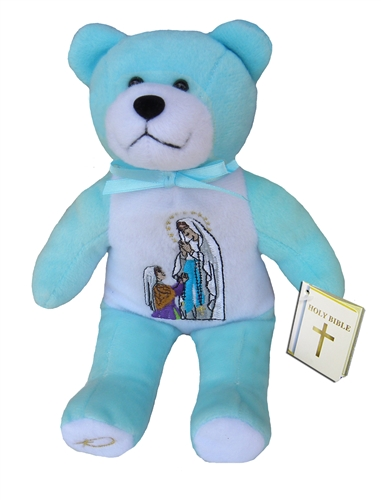 Teddy Bear Mary Our Lady Lourdes Holy Bears Plush