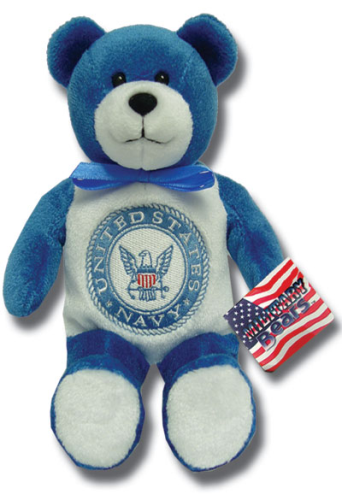 Teddy Bear US Navy Holy Bears Plush