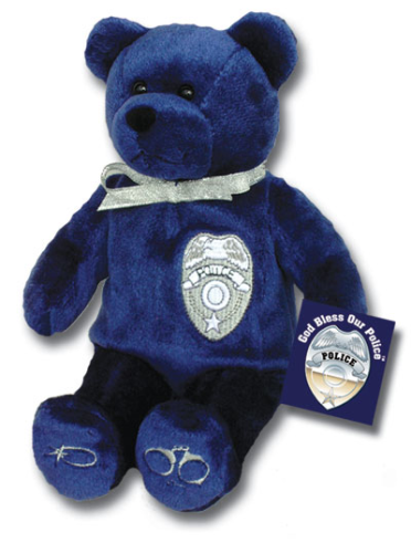 Teddy Bear Police Holy Bears Plush