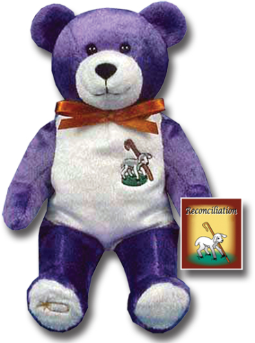 Teddy Bear First Reconciliation Holy Bears Plush