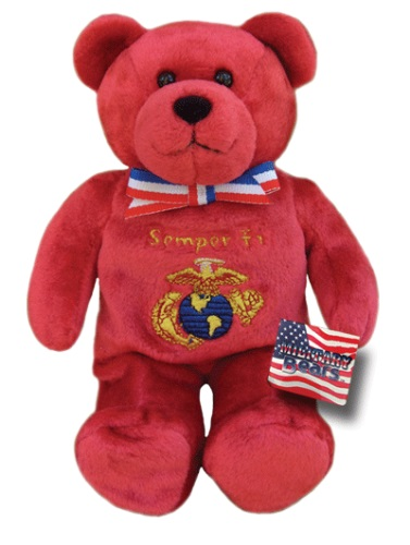 Teddy Bear US Marine Corps Holy Bears Plush