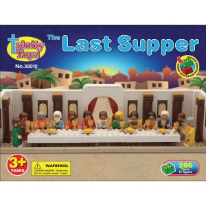 Building Bricks The Last Supper