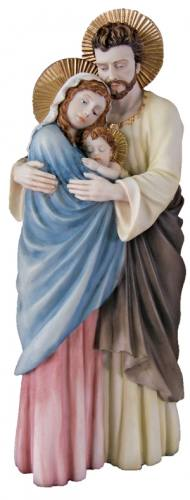 Statue Holy Family 10 inch Hand-Painted