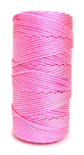 Pink with Pizzazz #36 Knotted Rosary Cord Twine