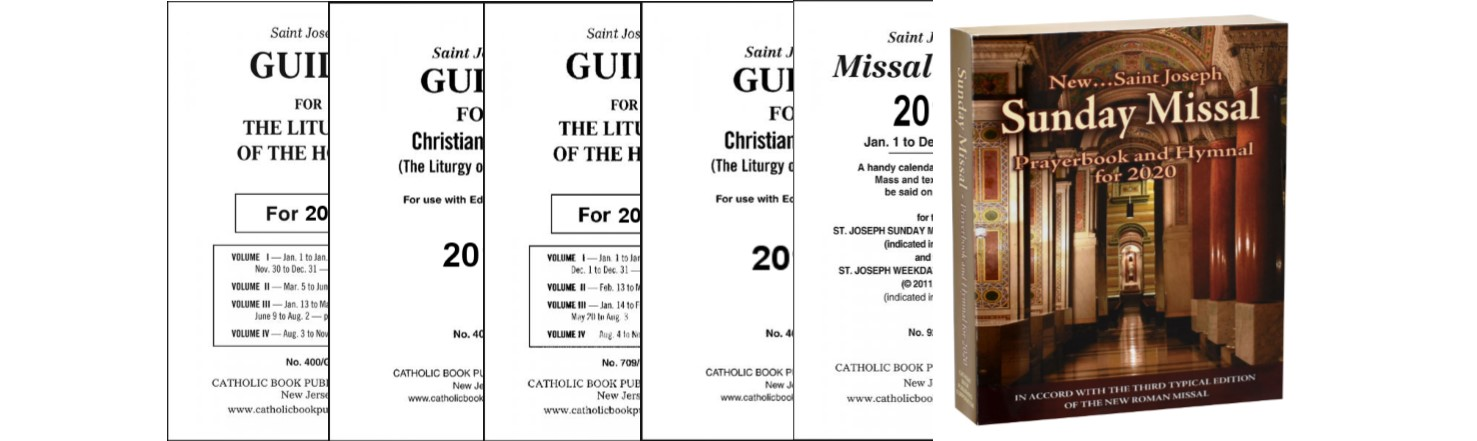 2020 Missal and Guides Are Available Now