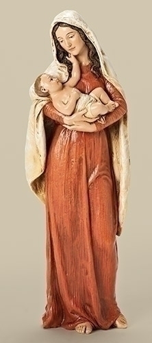 Statue Mary Child's Touch Madonna & Child 10 inch Resin Painted